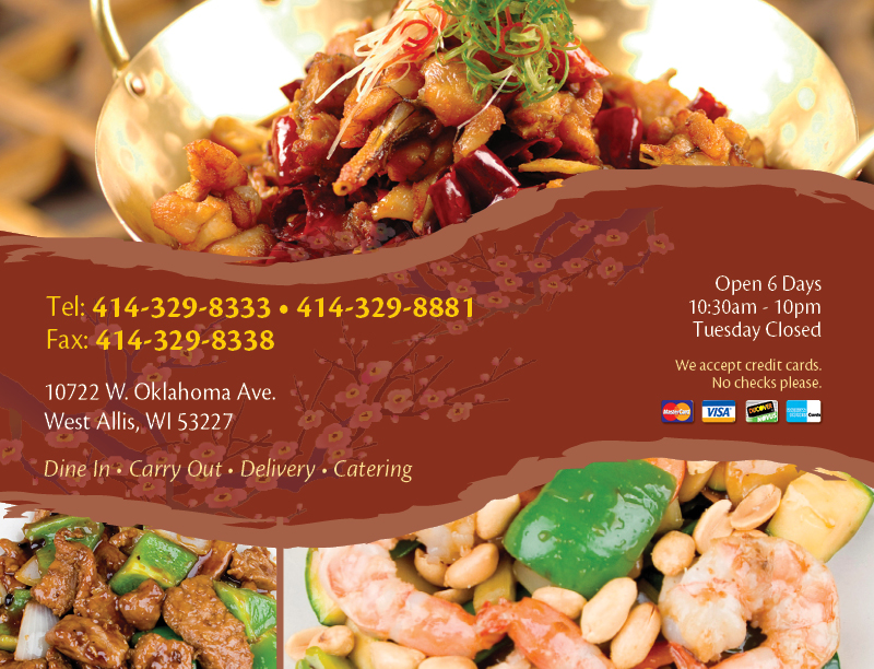 Jj Chens 10722 W Oklahoma Ave West Allis Wi 53227 414 329 8333 Copyright 2017 13 Jjchens All Rights Reserved Site By Adg